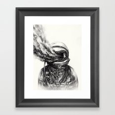 Transposed Framed Art Print
