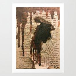 Martyr Art Print