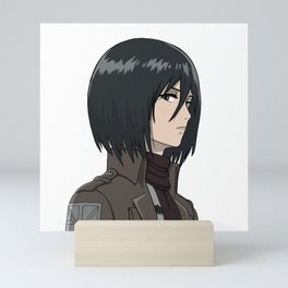 Mikasa Illustration Mini Art Print