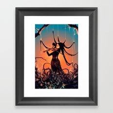 FiddleBack Framed Art Print