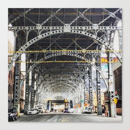 Riverside Drive Viaduct - New York City Canvas Print