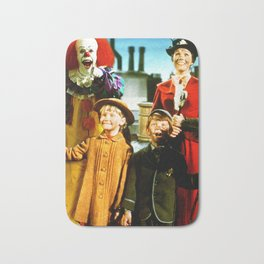 PENNYWISE IN MARY POPPINS Bath Mat