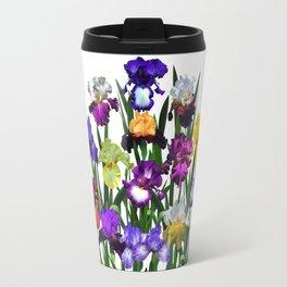 Iris garden Travel Mug