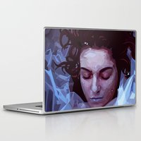 laura palmer Laptop & iPad Skins featuring Laura Palmer from Twin Peaks by Alice Teal
