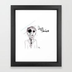 &portrait Framed Art Print