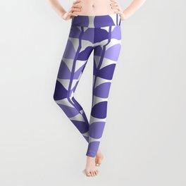 Leaf Design Lavender Ultraviolet Leggings