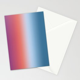 Ombre Clouds 1 Reversed Stationery Cards
