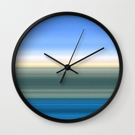 Summer Time in the Valley Wall Clock