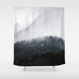 All In Forms Shower Curtain