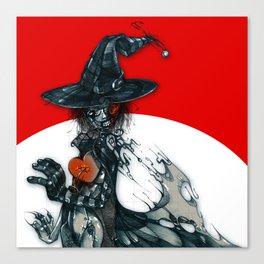 voodoo witch Canvas Print