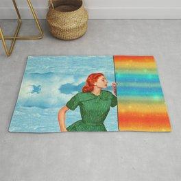 Touch the rainbow Rug