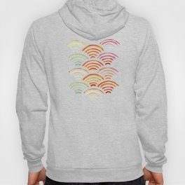 Baesic Watercolor Wifi Swash Hoody