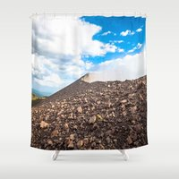 leon Shower Curtains featuring Leon, Nicaragua by WoosterTheRooster