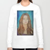 jennifer lawrence Long Sleeve T-shirts featuring Jennifer Lawrence by Jenn