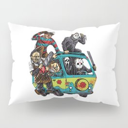 The Massacre Machine Horror Pillow Sham