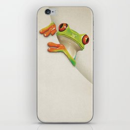 Little Red Eyed Tree Frog iPhone Skin
