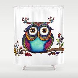 Owl  Shower Curtain