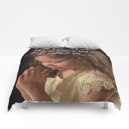 Matthew 19:13 Comforters