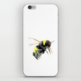 Bumblebee, bee art flying bee design honey bee wildlife iPhone Skin