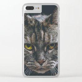 Look into my soul Clear iPhone Case