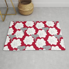 Alabama crimson Rug
