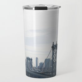 Manhattan Bridge Travel Mug