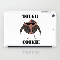 rileigh smirl iPad Cases featuring Tough Cookie by Rileigh Smirl