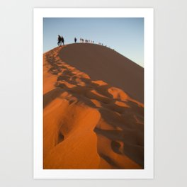 On Top of Dune 45 Art Print