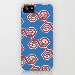 infinito blue iPhone Case