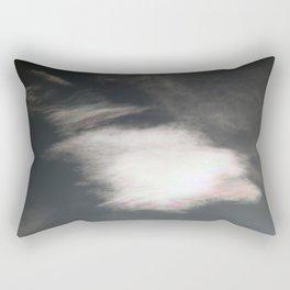 3 D Cloud Rectangular Pillow