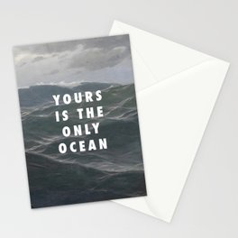 Ocean Approaching Stationery Cards