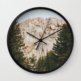 Rocky Mountain Grandeur Wall Clock