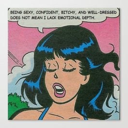 Veronica Lodge Canvas Print