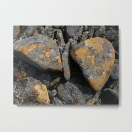 Tinted Rock Metal Print