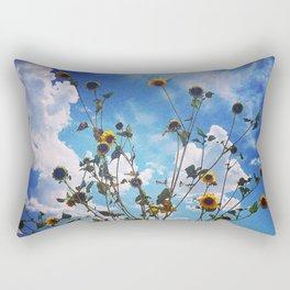 Wild Sunflowers Rectangular Pillow