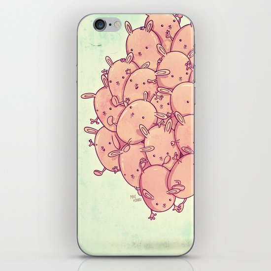 Cute bunnies iPhone & iPod Skin