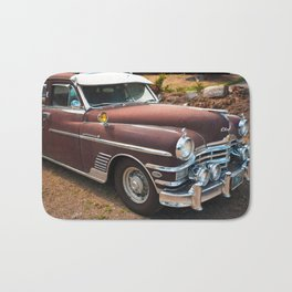 Classic Car Vintage Automobile American Auto Mechanic Rusty Northwest Bath Mat