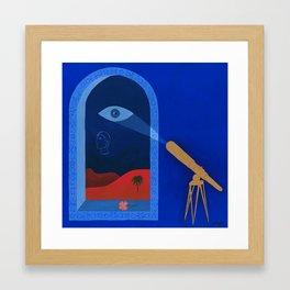 De Nouvelles Découvertes Framed Art Print
