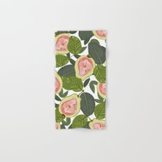 Guava #society6 #decor #buyart Hand & Bath Towel