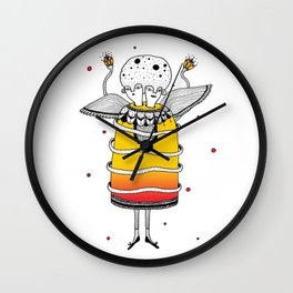 Togetherness & Separation Wall Clock