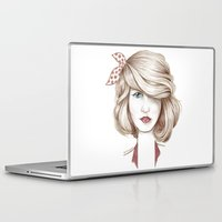 dorothy Laptop & iPad Skins featuring Dorothy by yulianzone