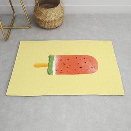 Watermelon Popsicle #society6 #decor #buyart Rug