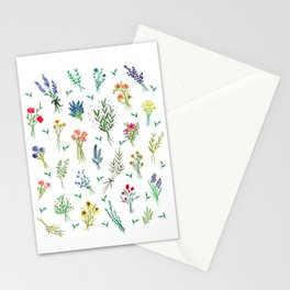 Garden Bouquets Stationery Cards