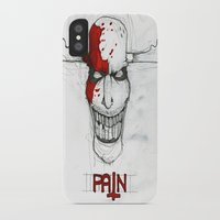 "pain iPhone & iPod Cases featuring ""Pain"" by Pastuv"