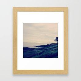 Galiano Island, British Columbia Framed Art Print