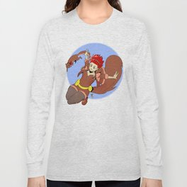 Squirrel Girl Long Sleeve T-shirt