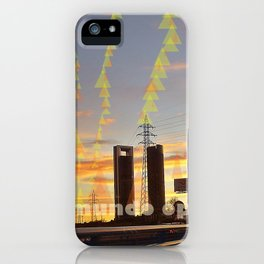 communications and light iPhone Case