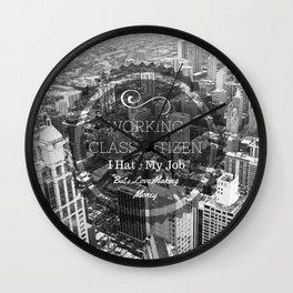 Working Class Citizen Wall Clock