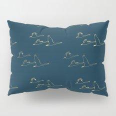 Wild Swans in Flock Pillow Sham