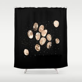 Full minds Shower Curtain